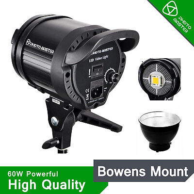 LED Studio Video Continuous flash Lighting Kit Sun Light Bowen Mount for baby