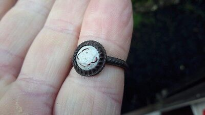 Decorative Old 1700-1800s Ring