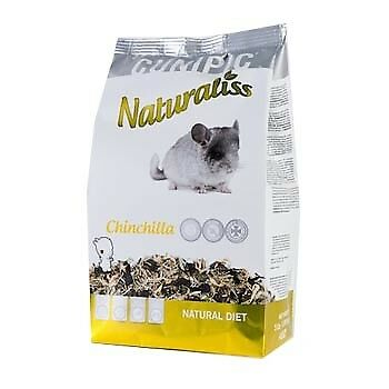 Pienso para Chinchillas Cunipic Naturaliss : 1,4 kg