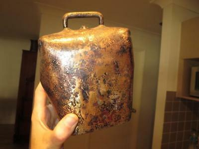 Large Antique Vintage Condamine A H Ormand Bell ~ Bullock Cowbell