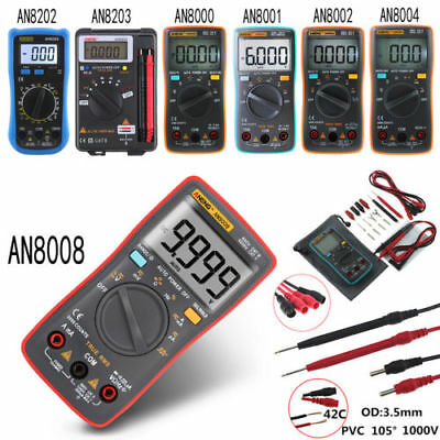 True-RMS ANENG 8008 Digital-Multimeter 9999 zählt Spannungs-Amperemeter