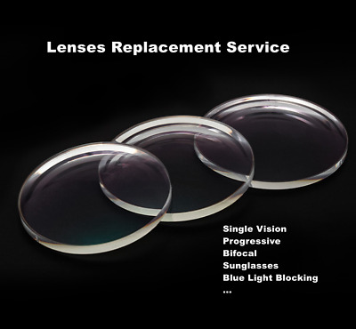 Lenses replacement service for our Rimmed eyeglass frames