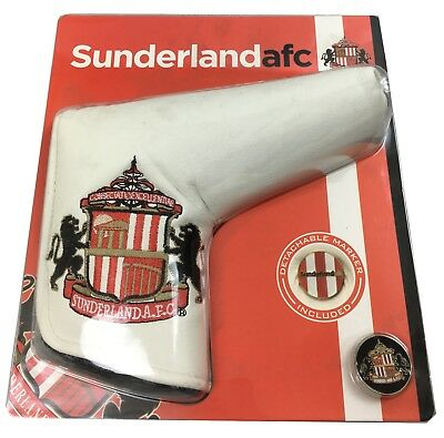 Sunderland FC Football Club Golf Blade Putter Head Cover - 100% Official Merch