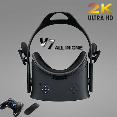 HMD-V7 3D Headset All-in-one Virtual Reality Glasses 110° FOV 2K Display 2017