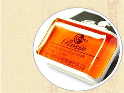 High Quality Rosin for Violin Viola Cello Round Shape Amber Color Acoustic #y