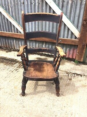 Victorian Rustic Kitchen Armchair