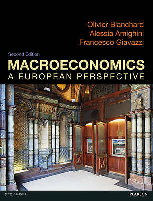 Macroeconomics: a European Perspective by Alessia Amighini, Francesco Giavazzi,