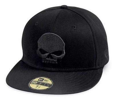 Genuine Harley Davidson Men's Willie G Skull 59FIFTY Baseball Cap 99400-14VM