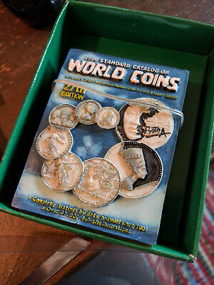 2000 Standard Catalog of World Coins  27th edition paperback 1801-1900