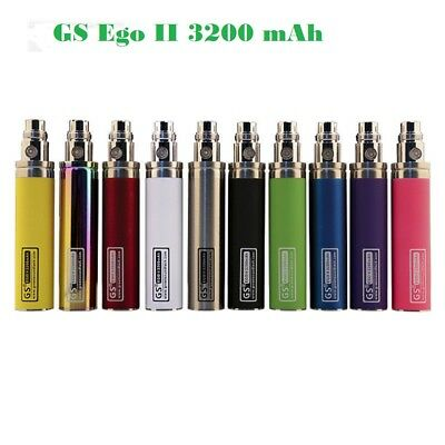 NEW Authentic GS Ego II 3200 mAh Rechargeab  Battery E - CIG Pen Fast Dispatched
