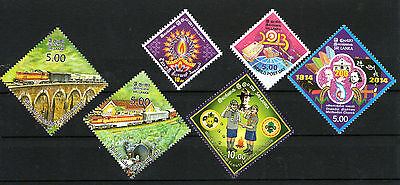 SRI LANKA - Thematic Stamp Collection - Diamond Shape, Odd Shape, MNH
