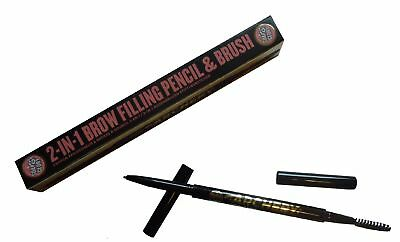 Soap & Glory Archery 2-in-1 Brow Filling Pencil & Brush - Love is Blonde