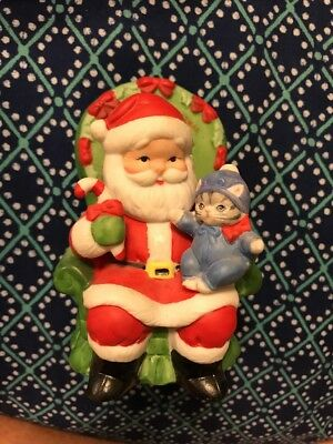 KITTY CUCUMBER ~ 1989 ~ Schmidt ~ BABY PICKLES and Santa Claus ~1st Christmas