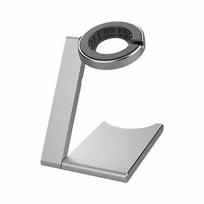 iClever Viewing Angle Solid Base Apple Watch Stand Silver