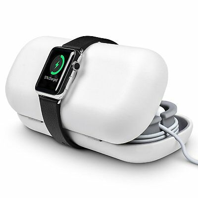 Twelve South TimePorter for Apple Watch, white | Apple Watch accessory travel +