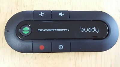 SuperTooth Buddy Bluetooth Visor Speakerphone for Car - Black (BUDDY ONLY)