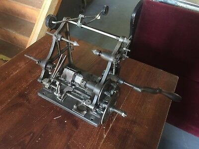 Antique The Douglas Automatic Coil Winding Machine