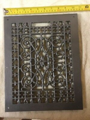 Vintage Cast Iron Heat Grate
