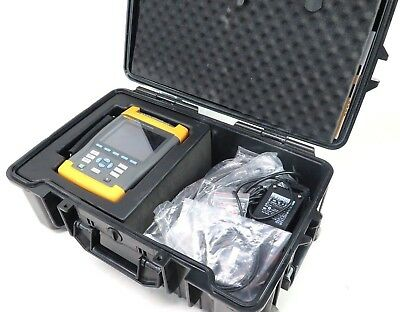 Fluke 435 Three Phase Power Quality Analyzer w/ Clamps, Test Lead Cable + EXTRAS