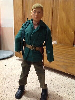 Vintage action man figure  palitoy by hasbro