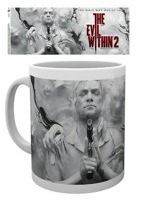 The Evil Within 2 - Ceramic Coffee Mug / Cup (The Only Way Out Is In)