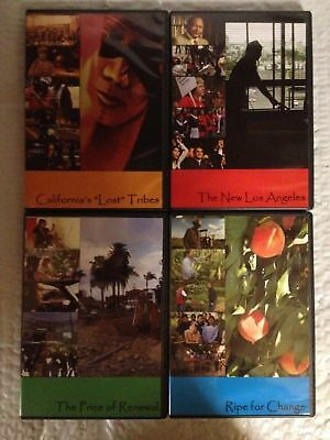 California and the American Dream DVD 4 Discs/Programs in a Series PBS
