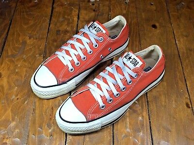 Vintage 1990's Converse All Star Canvas Low-Top Sneakers MADE IN USA Size M5/W7