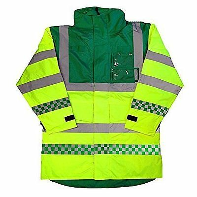 Paramedic Coat Anorak Emergency EMT Ambulance Visibility Safety Coat 4 Sizes