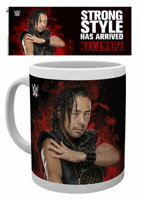 Wwe - Coffee Mug / Cup (Nakamura - Strong Style Has Arrived)