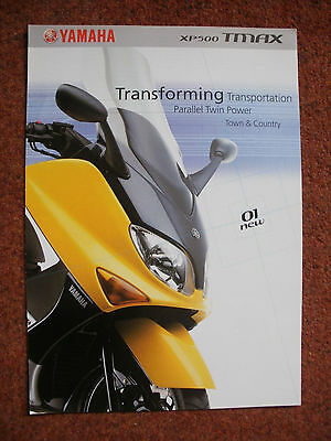 Yamaha XP500 Tmax brochure year 2001