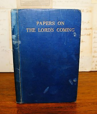 C H M Papers on the Lord's Coming  - Plymouth Brethren
