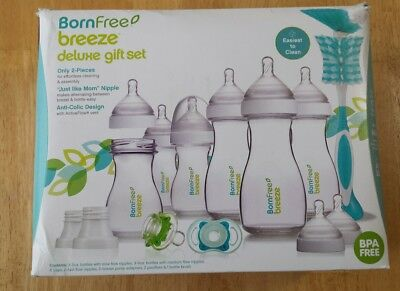 Born Free Breeze Deluxe Gift Set NEW OPENED DAMAGED BOX