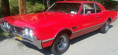 1966 Oldsmobile 442 Cutlass 442 Numbers Matching 1966 Olds 442 Sport Coupe (3807) 4 spd low mileage - STUNNING!