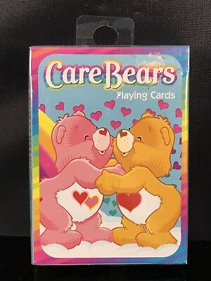 New Sealed Care Bears Playing Cards 2003 Bicycle CareBears