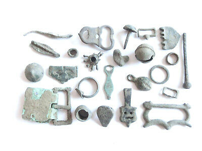Lot of Misc. Ancient BRONZE Artifacts L@@K