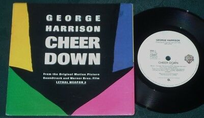 "George Harrison Cheer Down 7"" Single Australia The Beatles ExCondition !!"