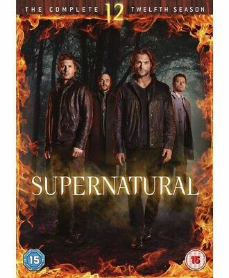 New Supernatural Complete Season 12 New Sealed Fast P&p