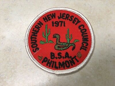 1971 Southern New Jersey Council Philmont Contingent Patch