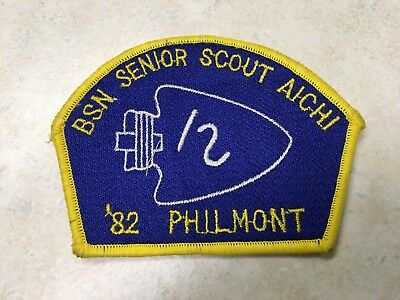 1982 Boy Scouts of Nippon Philmont Contingent Patch