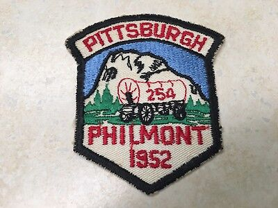 1952 Pittsburgh Philmont Contingent Patch