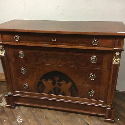French Empire Style Chest, Custom Made Finely Crafted 48""