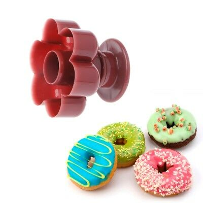 1PC Flower Shaped Donuts Maker DIY Mold Cake Desserts Bread Baking Tool Cutter