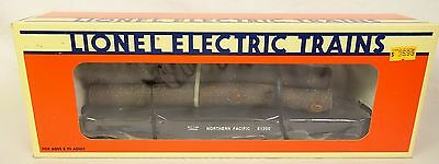 Lionel #6-17510 Northern Pacific Flat Car #61200 With Logs-New In Box!
