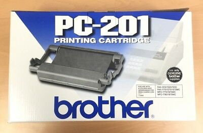 Brother PC-201 Printing Ink Cartridge 012502054177 Fax 1010/1020/1030