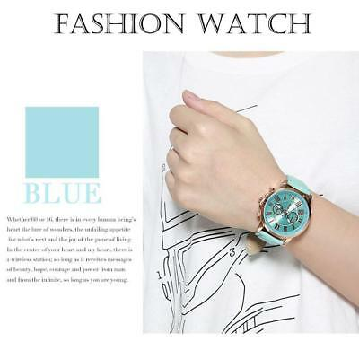 Vintage Women's Simple Electronic Watch Quartz Analog Wrist Watch Round Trendy A