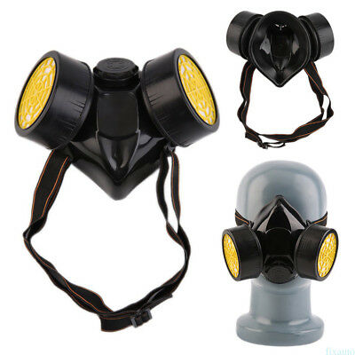 1 PC Emergency Survival Safety Double protection Gas Mask MGF7