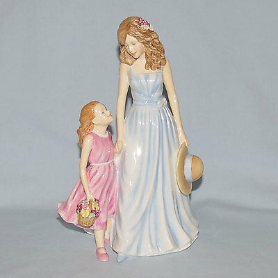Royal Doulton Pretty Ladies A Tender Love Mothers Figure Of Year 2012 Hn5544