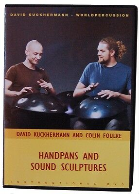 Handpans and Sound 1 Sculptures Lern Dvd  Handpan David Kuckhermann Colin Foulke