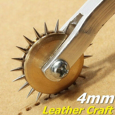 2017 Stainless Steel Leather Paper Overstitch Wheel Roulette Spacer Sewing Tools