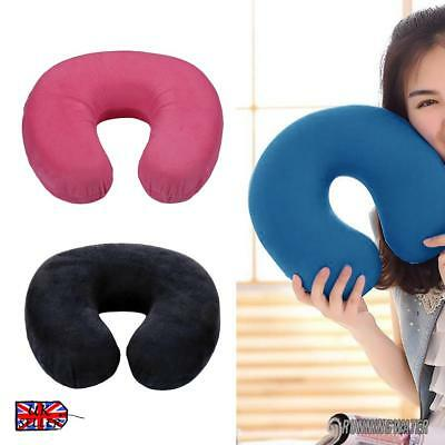 U Shape Pillow Memory Foam Neck Headrest Car Flight Travel Soft Nursing Cushion